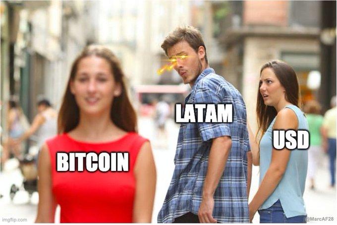 Bitcoin: Was zum Teufel ist bitte in Lateinamerika los!?